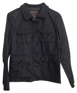 J.Crew Waxed Cotton Field Dark army green-gray Jacket