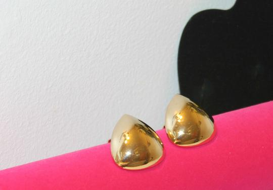 Other Beautiful Triangle Button Clip On Earrings