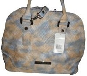Ivanka Trump Satchel in Tie-dye (grey and orange)