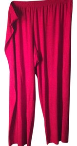 Coldwater Creek Trouser Pants Red