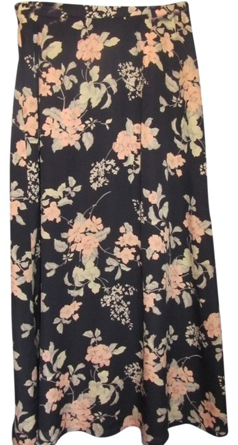 Preload https://item5.tradesy.com/images/talbots-blue-with-floral-print-silk-midi-skirt-size-petite-6-s-6081724-0-0.jpg?width=400&height=650