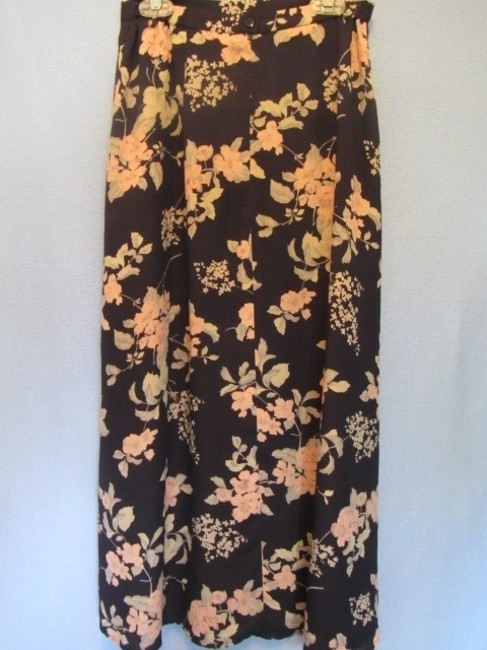 Talbots Skirt blue with floral print
