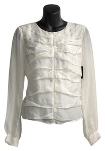 Robert Rodriguez Top off-white