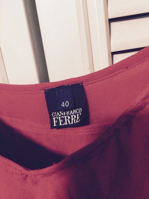 Gianfranco Ferre Top red