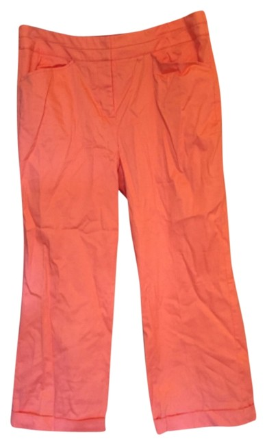 Preload https://item1.tradesy.com/images/metro-style-coral-capricropped-pants-size-14-l-34-6082795-0-0.jpg?width=400&height=650