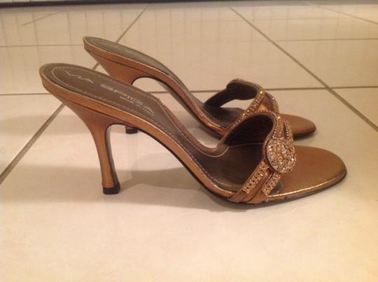 Via Spiga Bronze/copper Sandals