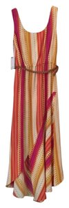Multicolor Maxi Dress by Calvin Klein