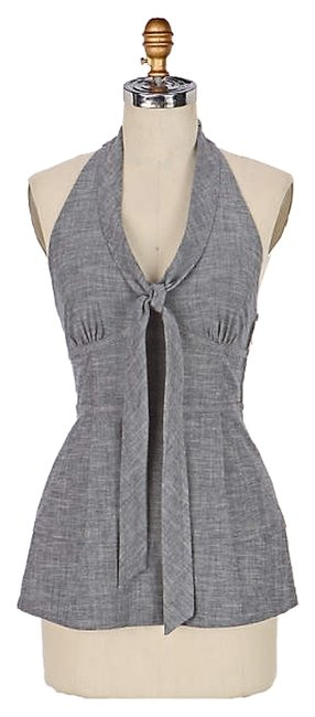 Item - Gray Fei Tailored Halter Top Size 4 (S)