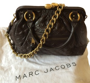 Marc Jacobs Satchel in Dark Brown