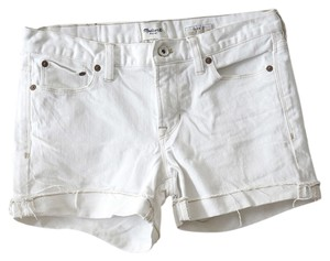 Madewell Cut Off Shorts White
