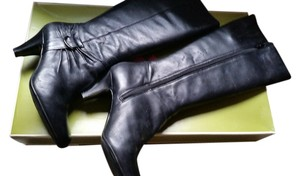 Naturalizer Nice Leather BLACK Boots