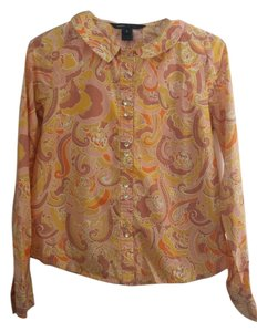 Marc Jacobs Button Down Shirt multiple-paisley