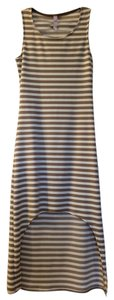 Striped Maxi Dress by Francesca's High-low Summer