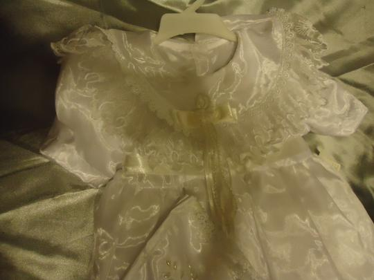 White Organza Christening Gown ~ 24 Months Other