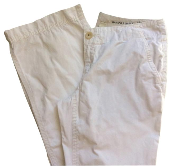 Banana Republic Khaki/Chino Pants White
