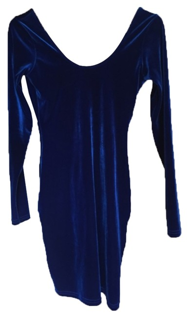 Preload https://item1.tradesy.com/images/american-apparel-royal-blue-mini-night-out-dress-size-8-m-6085105-0-0.jpg?width=400&height=650