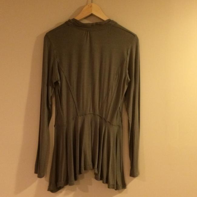 Anthropologie Button Down Shirt Olive