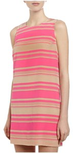 Amanda Uprichard short dress Pink & beige Silk on Tradesy