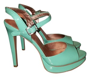 BCBG Paris Teal Pumps