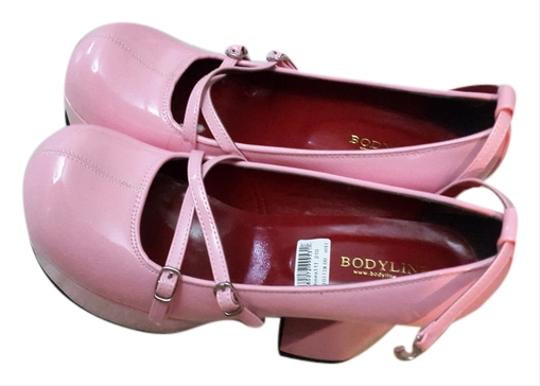 Bodyline pink Platforms
