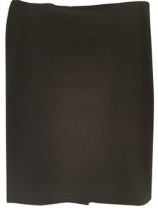 Prada Italy Pencil Fashion Skirt Black