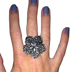 Nordstrom Silver Flower Ring