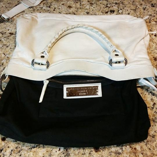 Balenciaga Tote in Off White / Ivory