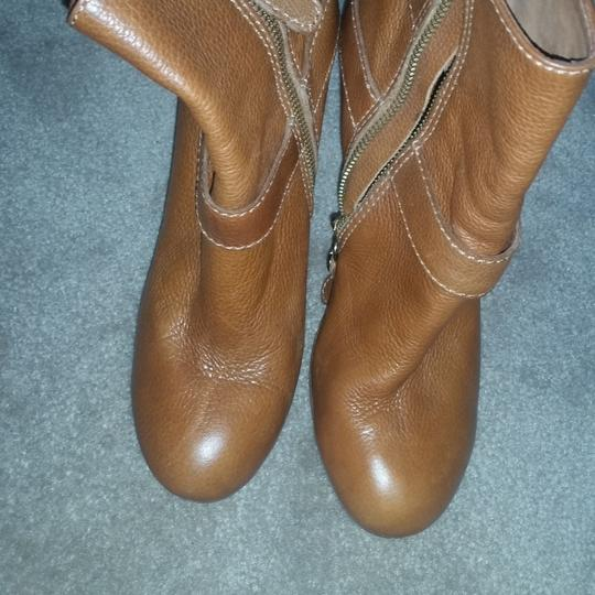 Juicy Couture Cognac Boots