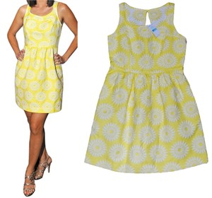 Tori Richard short dress Yellow on Tradesy