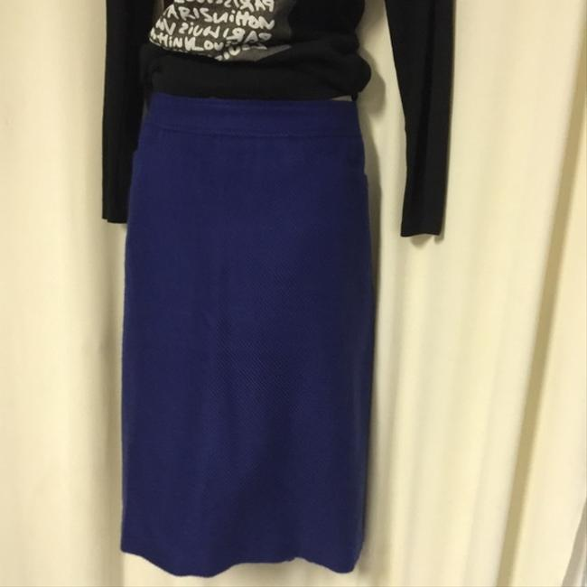 Talbots Perfect Pencil Blue Purple 16 Skirt