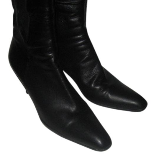 Prada Leather Black Boots