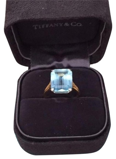 Preload https://item2.tradesy.com/images/tiffany-and-co-co-543-ct-aqua-emerald-18-k-yellow-platinum-ring-6089566-0-2.jpg?width=440&height=440