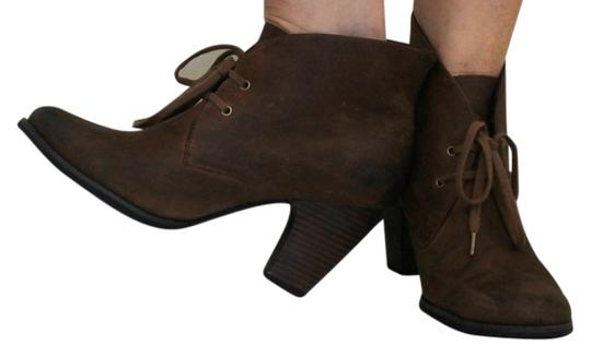 Clarks Desert Nubuck Chocolate Lace Brown Boots