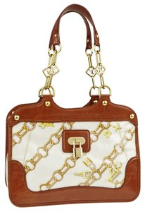Louis Vuitton Satchel in brown multicolor