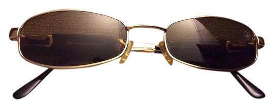Preload https://item2.tradesy.com/images/gold-gold-tone-with-brown-lenses-sunglasses-6091096-0-1.jpg?width=440&height=440