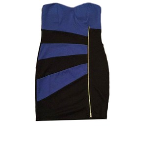 DuO Boutique short dress Black/Blue Party Mini New Years Birthday Celebration on Tradesy