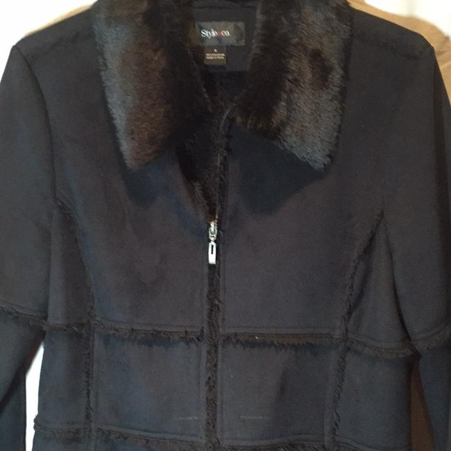 Style & Co Fur Coat