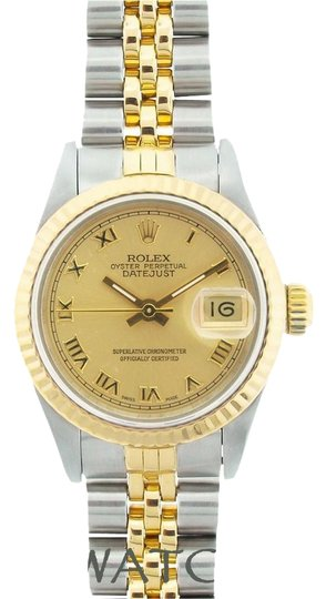 Rolex LADIES ROLEX DATEJUST 2-TONE WATCH WITH ROLEX BOX & APPRAISAL