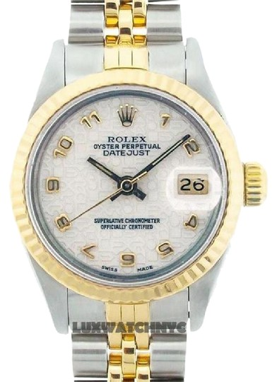 Rolex LADIES ROLEX DATEJUST 2-TONE WITH JUBILEE DIAL