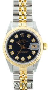 Rolex LADIES ROLEX DATEJUST 2-TONE WITH DIAMOND MARKERS
