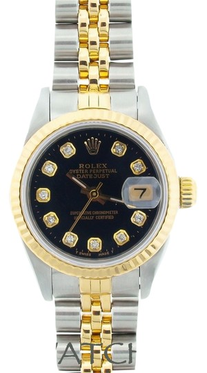 Preload https://item3.tradesy.com/images/rolex-ladies-datejust-2-tone-with-diamond-markers-watch-6095002-0-0.jpg?width=440&height=440