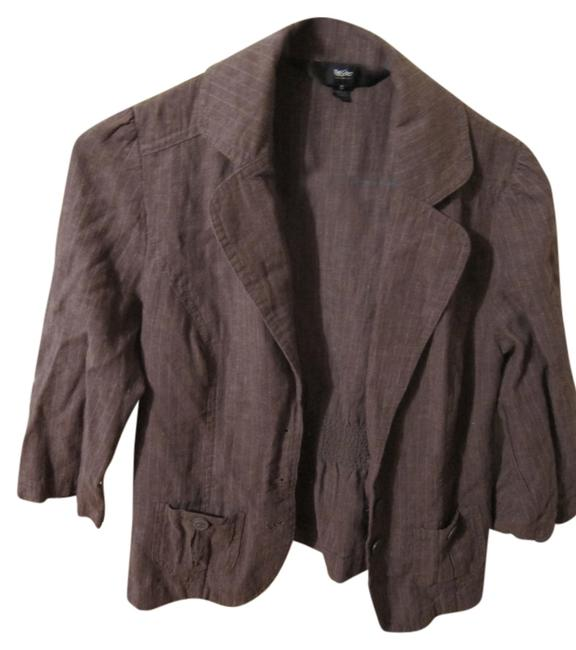 Preload https://item2.tradesy.com/images/mossimo-supply-co-brown-blazer-size-4-s-6095611-0-0.jpg?width=400&height=650