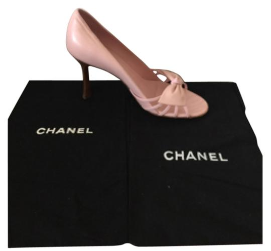 Chanel Pink Pumps