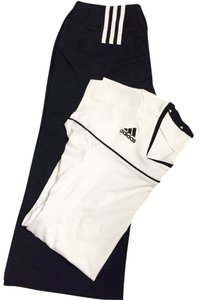 adidas Capris Black And White
