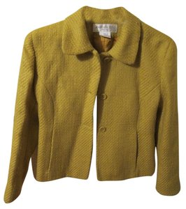 Jones New York Mustard Yellow Blazer