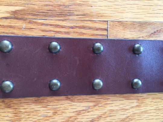 Gap Genuine Leather Belt with Studs