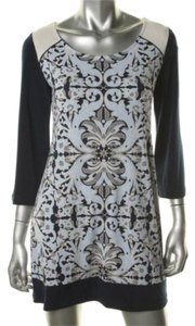 Alfani short dress Lace Overlay Blue on Tradesy