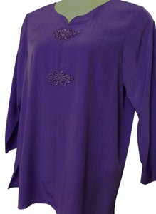 Maggie Sweet Long-sleeve Polyester Tunic