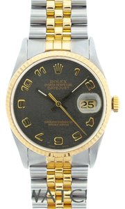 Rolex MEN'S ROLEX DATEJSUT 2-TONE WITH JUBILEE DIAL