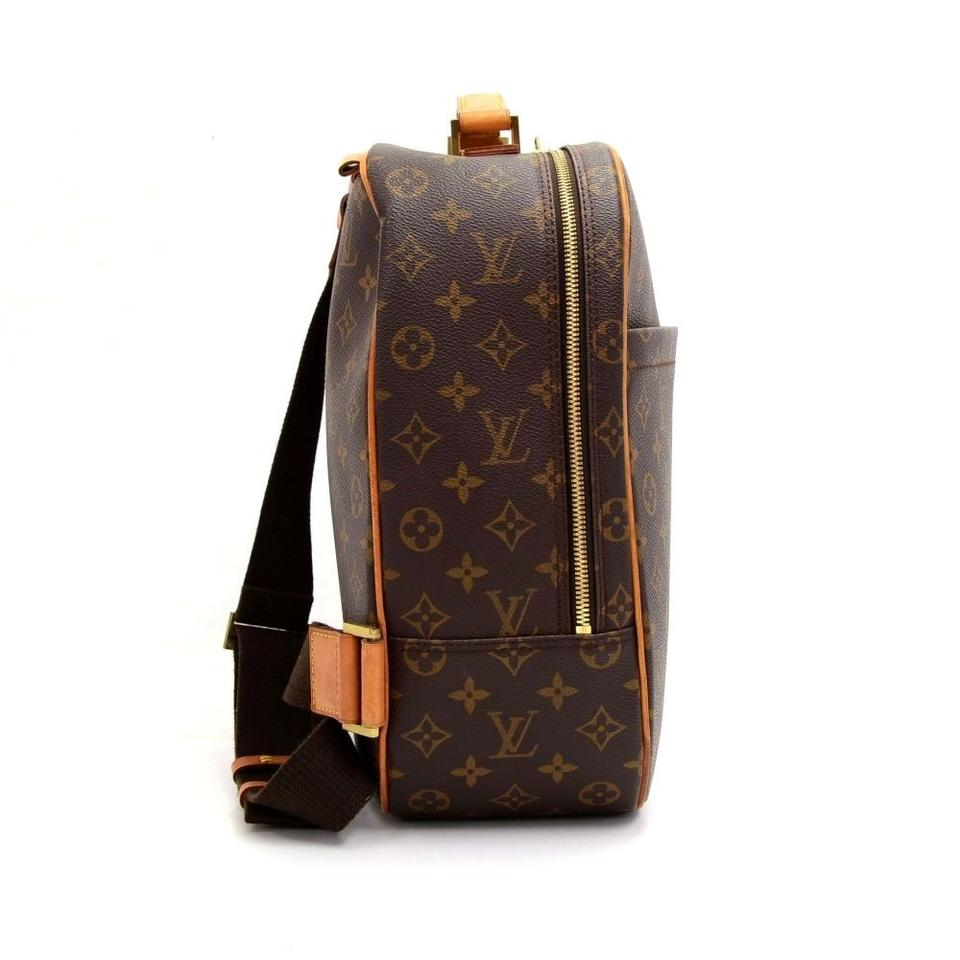 louis vuitton sac a dos packall monogram canvas shoulder bag brown tradesy. Black Bedroom Furniture Sets. Home Design Ideas